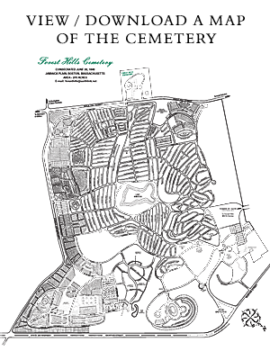 Map of Forest Hills Cemetery