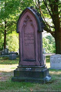 Mary Wentworth Monument